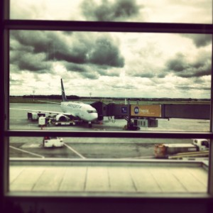 Edmonton, Airport, WestJet, Travel